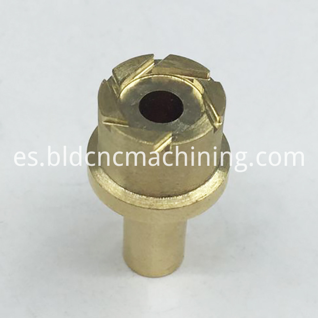 precision machining brass parts