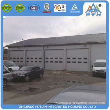 Environmental cheap glass wool prefabricated garage
