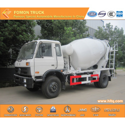 Dongfeng 6CBM cement mixer truck 4x2