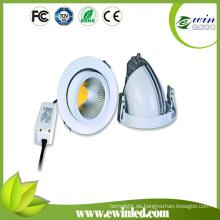 Drehbares LED Downlight 10W 15W 26W mit Garantie 3years