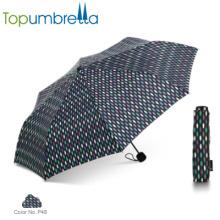 2018 novos produtos quentes guarda-chuvas de dobramento forte dos guarda-chuvas das senhoras extravagantes