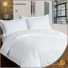 Tela de algodón 300TC 60 * 60, tejido de hotel