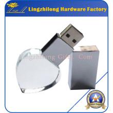 Лазерная гравировка пользовательские Кристалл USB