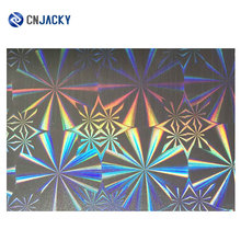 PVC Holographic Rainbow Film