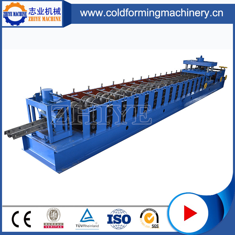 Hydraulic Color Steel Guardrail Purlin Roll Forming Machine