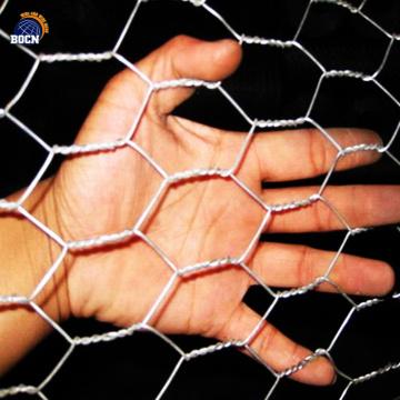 1/4 x 1/4 In inch hexagonal wire mesh