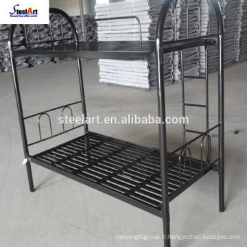 Pas cher en métal Double Deck Dubaï lit superposé prix