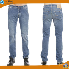 Brand Mens Jeans Slim Straight Pants Denim Trousers for Men