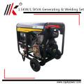 Generador diesel de la soldadura 1.5KW, soldador que genera toda la soldadora diesel del generador del soldador de la bobina de cobre