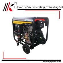 Générateur diesel portatif de haute qualité de machine de soudure de 8A à vendre philippines