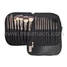 18PCS / Set Brushes Beauty Tools Sets avec une poche portable souple