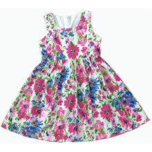 Neue Design Kinder Kinder Kleid in Mode Kinder Kleidung Rock (SQD-106 BLAU)