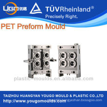 4cavity PET plastic wide mouth bottle preform mould in huangyan