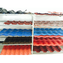 High quality hot selling stone coated steel roofing tile