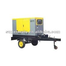 Factory price! mobile trailer type diesel genset