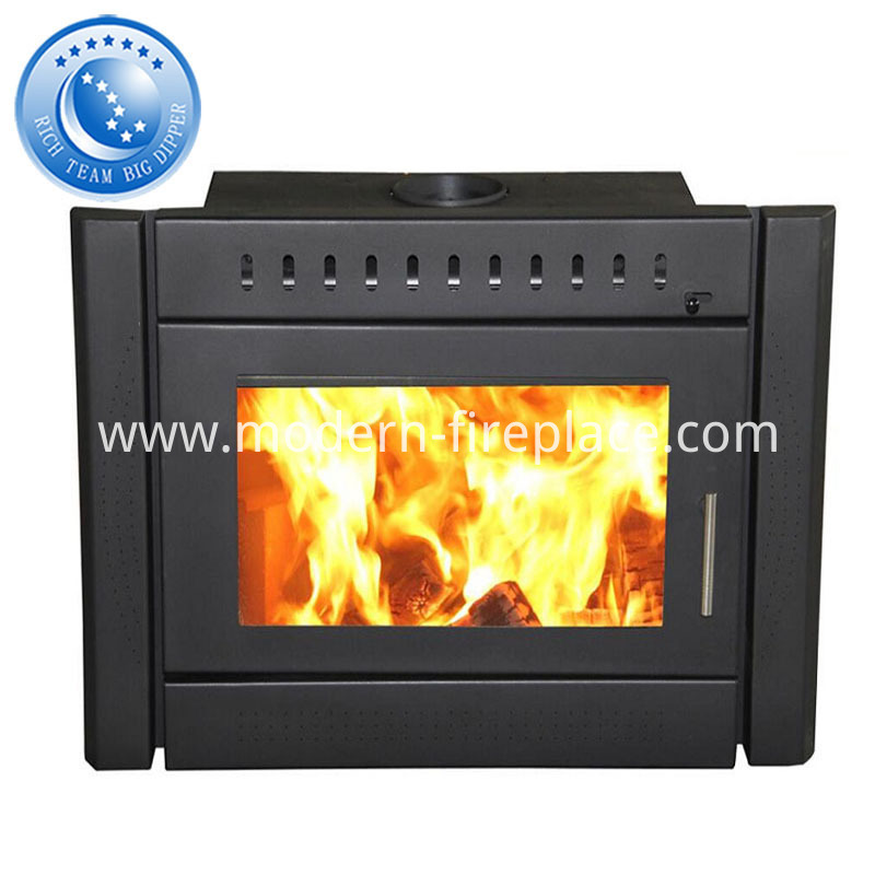Zero Clearance Ventless Wood Burning Fireplace Heaters Insert