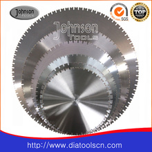 600-1600mm Diamond Wall Saw Blade for Cutting Reinforced Concrete