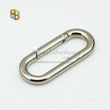 Ovaler Schnappring für Taschen