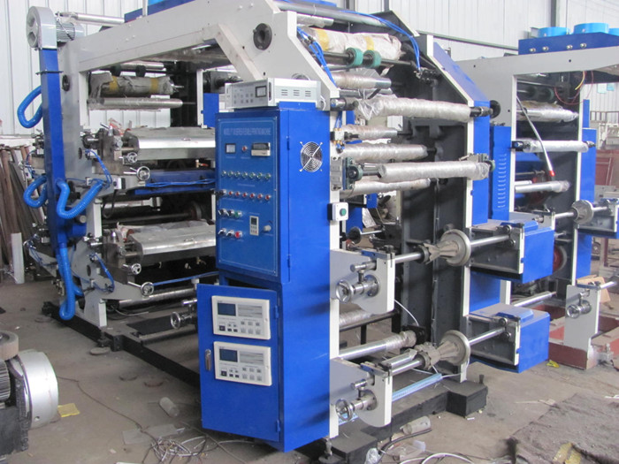 four color printing machine