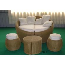 Cama de sol de móveis de alumínio e Design de móveis