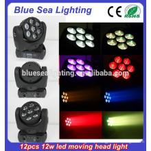 O estágio profissional RGBW conduziu o feixe 4in1 conduziu as luzes principais moventes para a venda