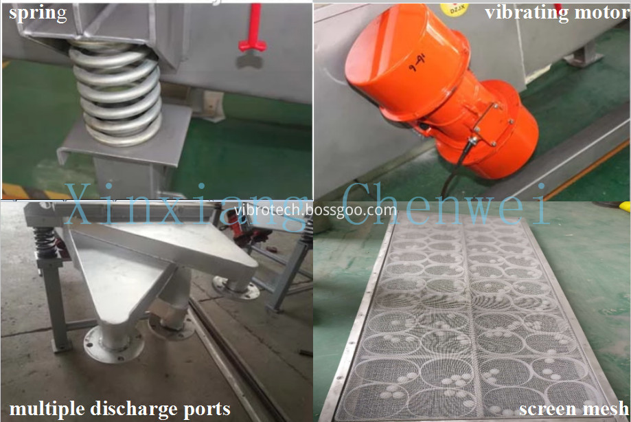 linear vibrating screen01