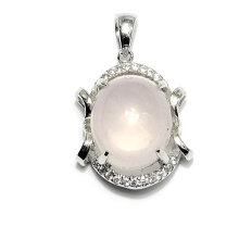 Fashion Gemstone Chalcedony Pendant Jewelry Accessory Necklace