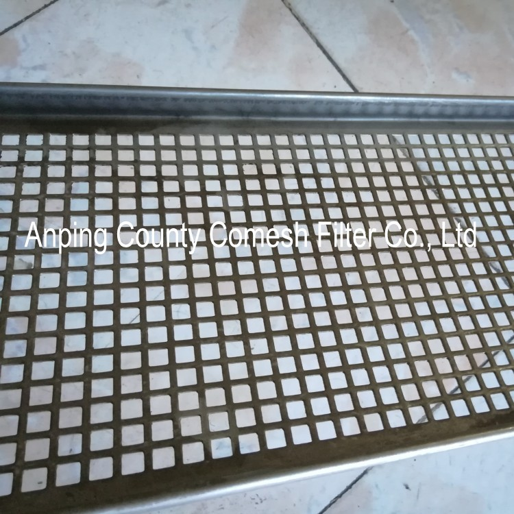 Stainless Steel Punched Drying Tray