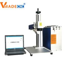 Meilleure qualité couverture mini machine de marquage laser à fibre