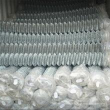 Cerca de ligação chian de malha de diamante de 50 mm no.
