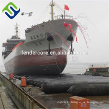 China made Marine Salvage Airbags For Floating Ship and Ship Launching