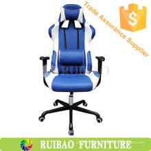 Fashional excelente silla de juego de muebles de oficina para el jugador con el asiento de coche giratorio