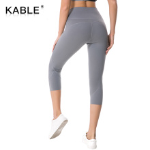 Factory Supply Workout Clothing Push Up Fitness Leggings Solid private label tights