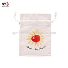 High-end creative canvas drawstring bag