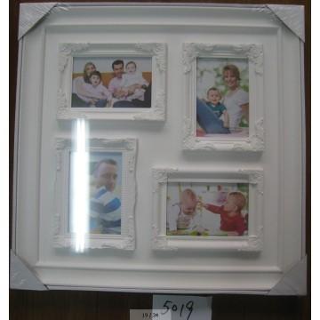 White Elegant Plastic Picture Frame