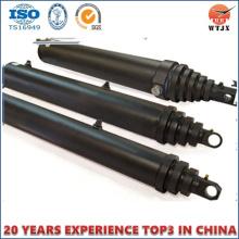 Mehrstufiger Hydraulikzylinder für Muldenkipper, Dump Hydraulikzylinder