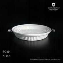 Porcelana bakeware / placas de forno