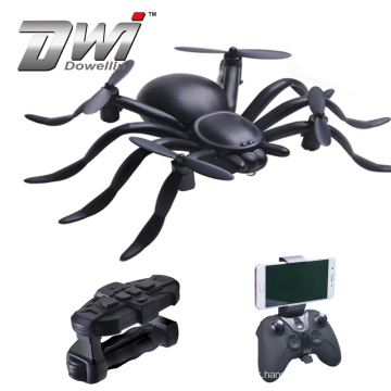 DWI Dowellin Gravity Sensor APP Control Spider Drone 2.4G Wifi Quadcopter with Altitude Hold