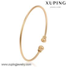 51495 Xuping Gold Armreif Designs Großhandel Frauen Messing Armreifen