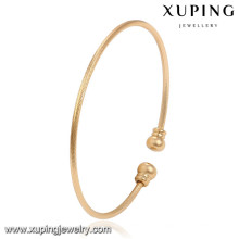 51495 Xuping or bangle dessins en gros femmes en laiton bracelets