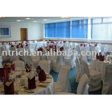 100%polyester chair cover,wedding/hotel chair cover