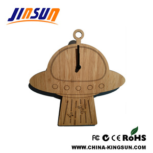 UFO Shape Wall Clock Kids Gift