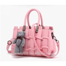 2017 cheap wholesale rattan ladies handbag brand women tote bag straw beach bag HB39