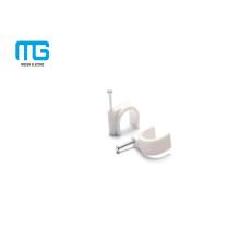 PP de alta qualidade dois tipos de cabo de fio segurando clipes de fixação