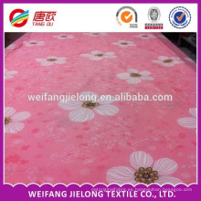 Tela 100% algodón de alta calidad hermosa nueva tela de algodón 100% diseño del lecho
