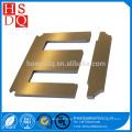 Stator en acier de silicium orienté à froid et feuille de noyau de rotor