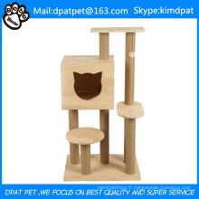 Scratcher et lit de chat d'escalade d'arbre de chat de vente chaud