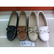 Falt & Comfort Señora zapatos con TPR suela (SNL-10-068)
