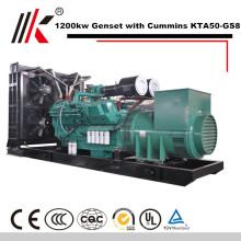 générateur de moteur diesel 1200KW 1500kva générateur de carburant diesel à aimant permanent