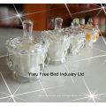 Venta al por mayor Tarros de cristal decorativos con alta calidad